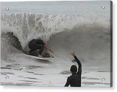 Surfing 209 Acrylic Print by Joyce StJames
