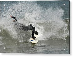 Surfing 396 Acrylic Print by Joyce StJames