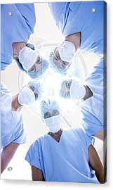 Surgical Team Acrylic Print by