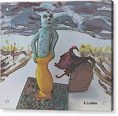 Surprising Powers 3 Acrylic Print