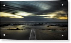 Surreal Narrabeen Acrylic Print by Mark Lucey