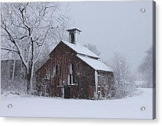 Surviving Another Winter Acrylic Print