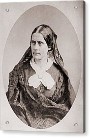 Susan B. Anthony 1820 �1906, American Acrylic Print by Everett