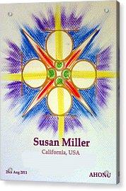 Susan Miller Acrylic Print