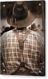 Suspended Acrylic Print by Fred Lassmann