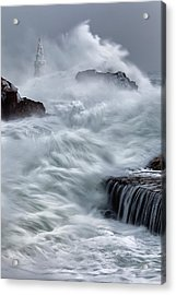 Swallowed By The Sea Acrylic Print