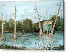Swamp Bayou Acrylic Print
