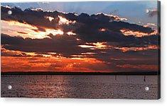 Swan Bay Sunset Acrylic Print