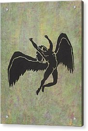 Swan Song Acrylic Print by Erika Betts