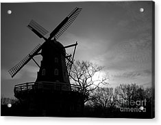 Swedish Windmill Acrylic Print by Mike  Connolly