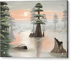 Sweeping Through Henderson Swamp Acrylic Print by Julliette Salter