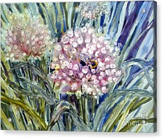 Acrylic Print featuring the painting Sweet Attraction by Louise Peardon