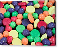 Acrylic Print featuring the photograph Sweet Candy Galore  by Sherry Hallemeier