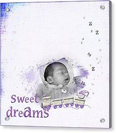 Sweet Dreams Acrylic Print by Joanne Kocwin