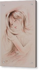 Sweet Dreams Acrylic Print by Rachel Christine Nowicki