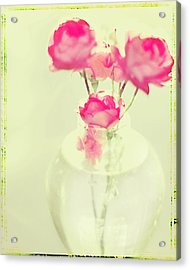 Sweet Fairy Rose Acrylic Print