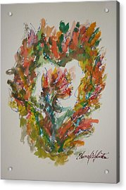 Sweet Heart Of Love Acrylic Print by Edward Wolverton