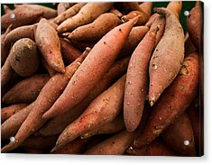 Sweet Potatoes Acrylic Print by Tanya Harrison