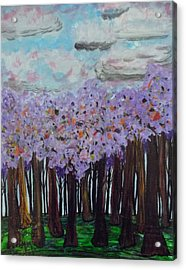 Sweet Trees Acrylic Print by Megan Ford-Miller