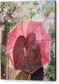 Sweet Valentine Acrylic Print by Kim Selig