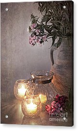 Sweet Williams Faded. Acrylic Print by Jane Rix