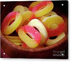 Sweeter Candys Acrylic Print by Carlos Caetano
