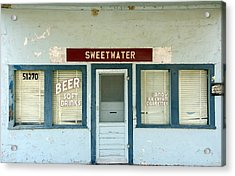 Sweetwater Store Acrylic Print by Jeff Lowe