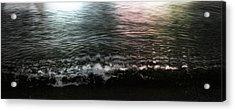 Swim Acrylic Print by Janet Kearns