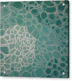 Swimming Pool Filter IIi Acrylic Print by Valentine Estabrook