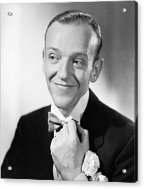 Swing Time, Fred Astaire, 1936 Acrylic Print by Everett