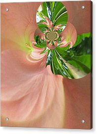Swirling Angels Acrylic Print by Mary Ann Southern