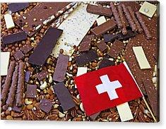 Swiss Chocolate Acrylic Print by Joana Kruse