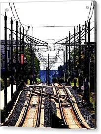 Switch Tracks Acrylic Print