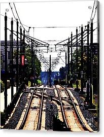 Switch Tracks Acrylic Print