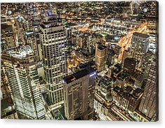 Sydney At Night Acrylic Print by Andy Nguy