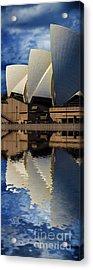 Sydney Opera House Abstract Acrylic Print by Avalon Fine Art Photography