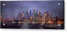 Sydney's Future Acrylic Print by Virginia Palomeque
