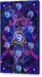 Symagery 35 Acrylic Print by Kenneth Armand Johnson