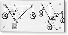 Symbol Language Of Statics Acrylic Print by Science Source