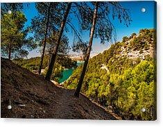 Symphony Of Nature. El Chorro. Spain Acrylic Print by Jenny Rainbow