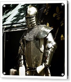 Syttende Mai Suit Of Armor Acrylic Print