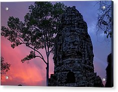 Ta Phrom Acrylic Print by Dominic Guiver
