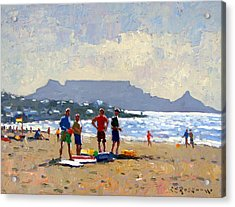 Table Mountain Cape Town Acrylic Print by Roelof Rossouw