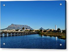 Acrylic Print featuring the photograph Table Mountain by Werner Lehmann