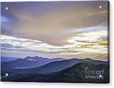 Table Rock Sunset Acrylic Print