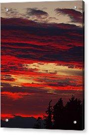 Tacoma Sunset 3 Acrylic Print by Jim Moore