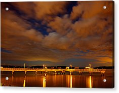 Tacoma Waterfront Acrylic Print by Robby Green