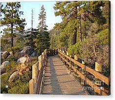 Tahoe Bridge Acrylic Print