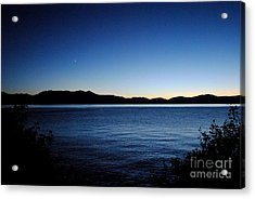 Tahoe Sunset  Acrylic Print by Sean McGuire