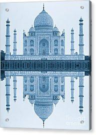 Acrylic Print featuring the photograph Taj Mahal by Luciano Mortula
